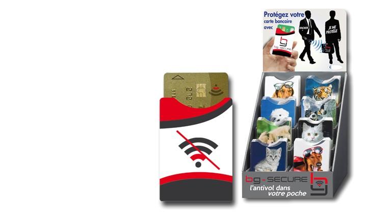 Nouveau : protèges cartes bancaires RFID - Empêchez le piratage de vos données bancaires ...