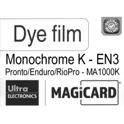 Film Magicard monochrome Noir EN3