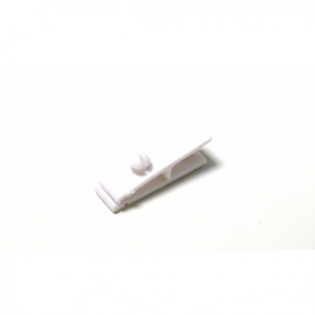 100 Clips pince plastique