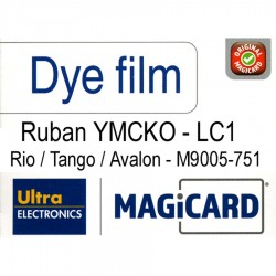 Film couleur Magicard LC1 - M9005-751
