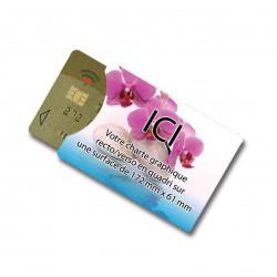 Protèges carte bancaire NFC personnalisés