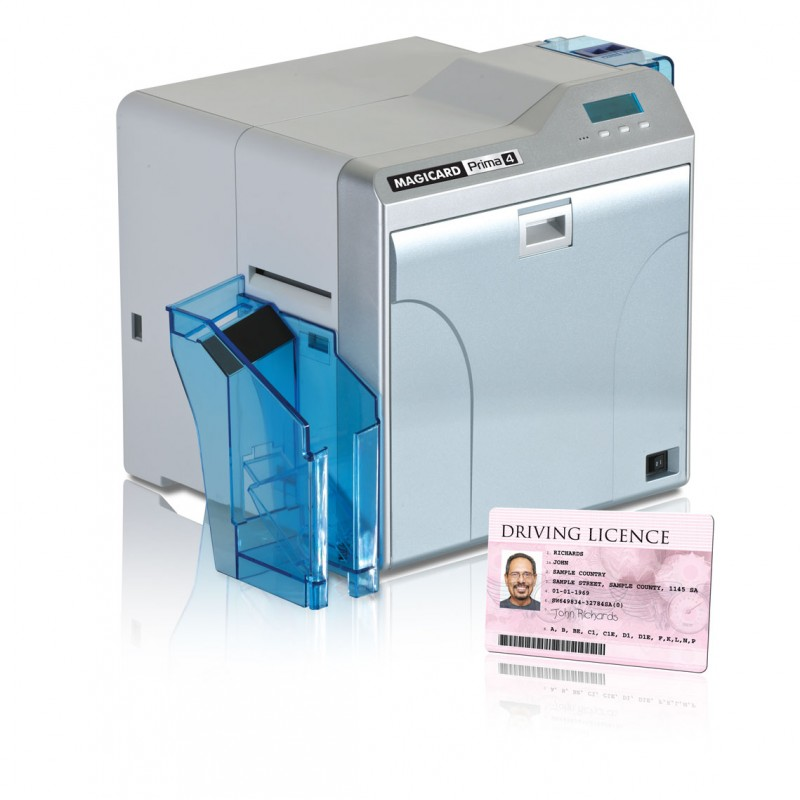 Imprimante retransfert pour cartes pvc magicard prima 4 - Imprimante carte pvc ...