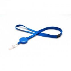 100 Cordons avec Zipcord bleu roi