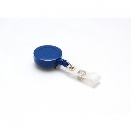 100 zip plastique bleu foncé