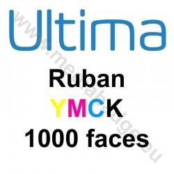 Ruban couleur YMCK Magicard Ultima