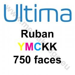 Ruban couleur YMCK-K Magicard Ultima