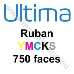 Ruban couleur YMCKS Magicard Ultima