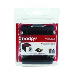 Pack consommables Evolis Badgy 200