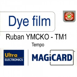 Film couleur YMCKO 250 cartes Magicard Tempo TM1