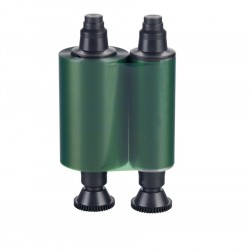 Ruban monochrome Vert Evolis R2014