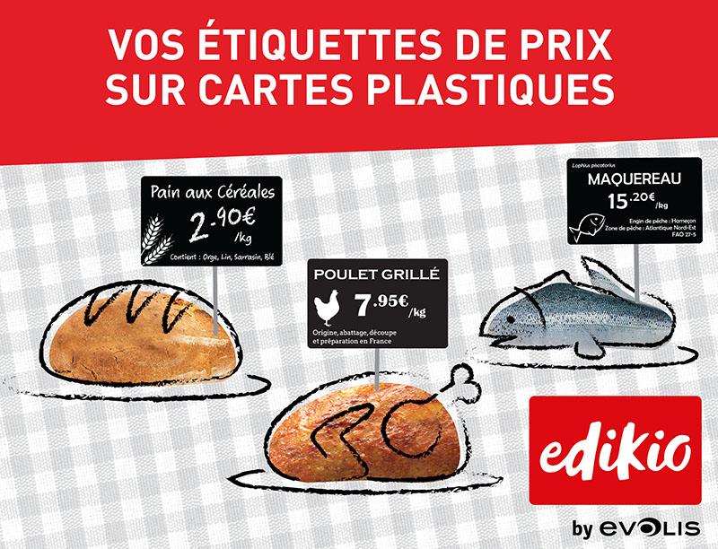 Solution étiquettes prix Evolis Price TAG