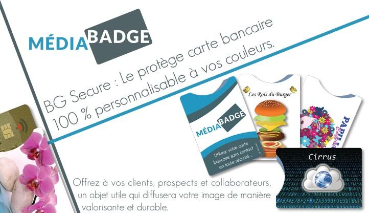 Nouveau : protèges carte bancaire sans contact personnalisés ...